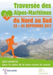 Affiche traversee Alpes - 22-24 septembre 2017