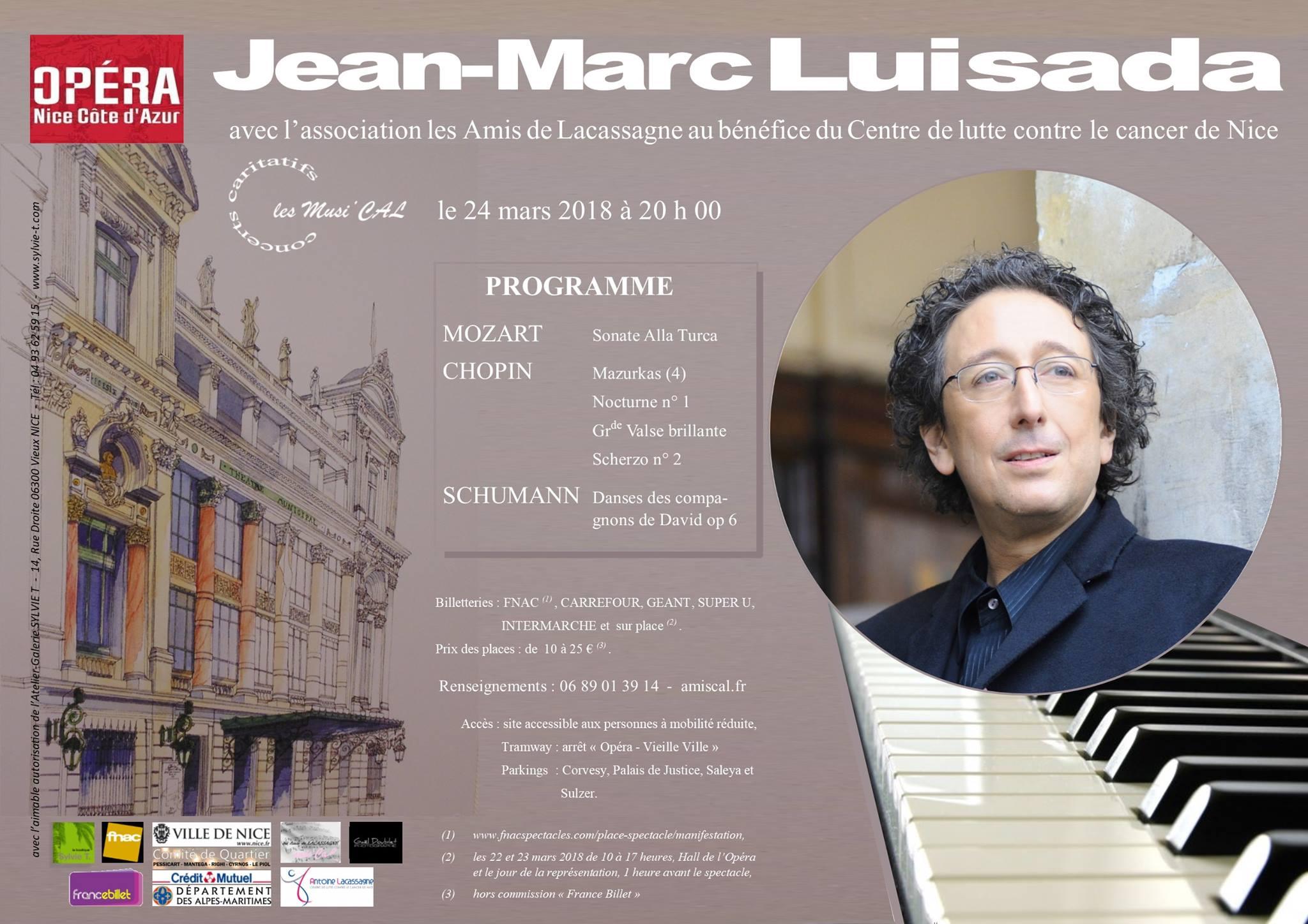 Concert Luisada 24 mars
