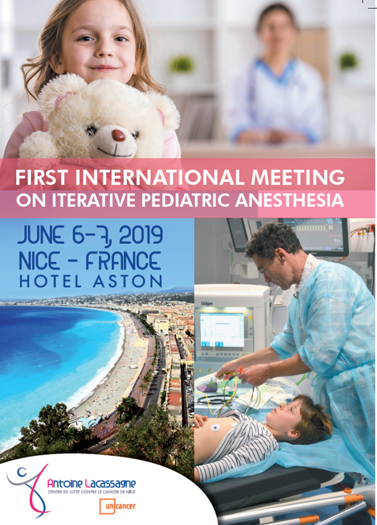 1er congres international anesthesie iterative pediatrique