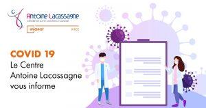 Image Facebook Information Covid Centre Antoine Lacassagne